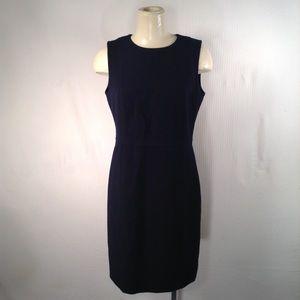 Tory Burch Navy Blue Shift  Dress Size 10